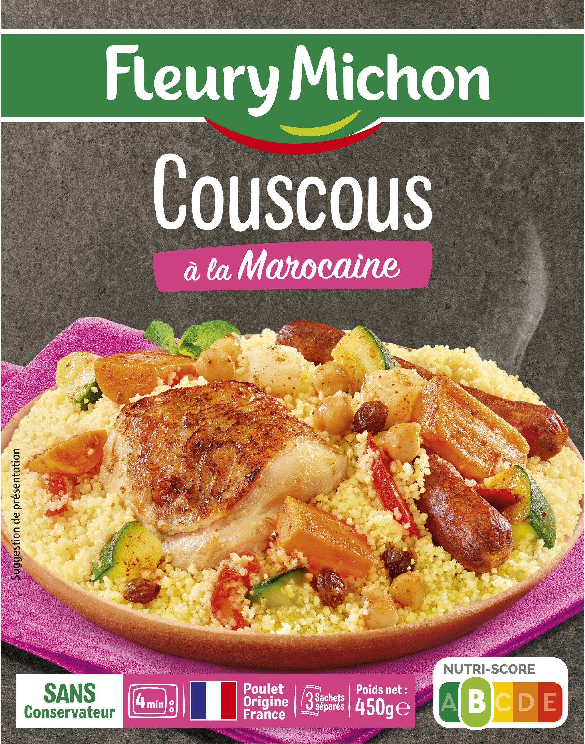 Couscous à la marocaine - Producto