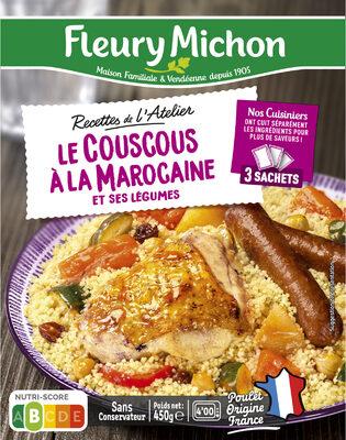 Le Couscous à la Marocaine et ses légumes - Produit - fr