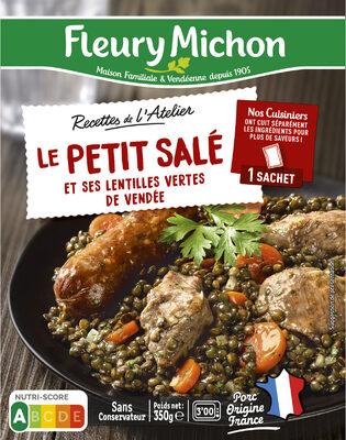 Le Petit Salé et ses Lentilles Vertes de Vendée - Prodotto - fr