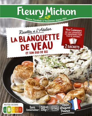 La Blanquette de Veau et son duo de riz - Prodotto - fr