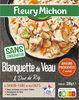 Blanquette de veau & duo de riz - Product