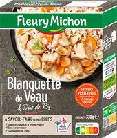 Blanquette de Veau aux Cèpes et Duo de Riz - Produit