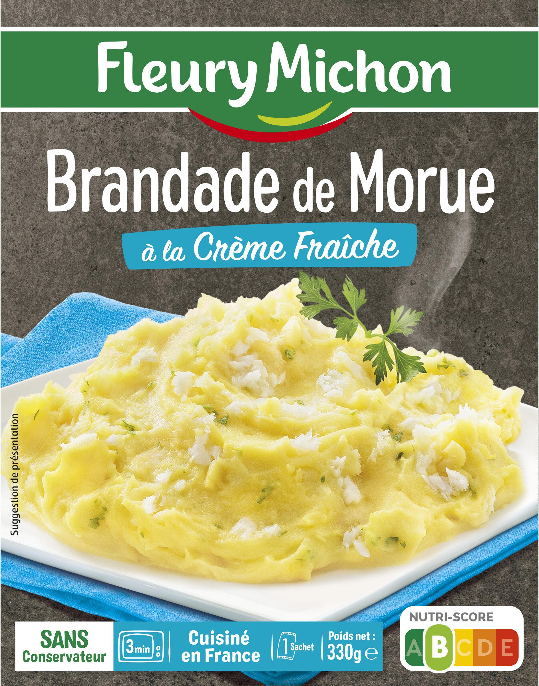 Brandade de Morue à la Crème Fraîche - Produit - fr