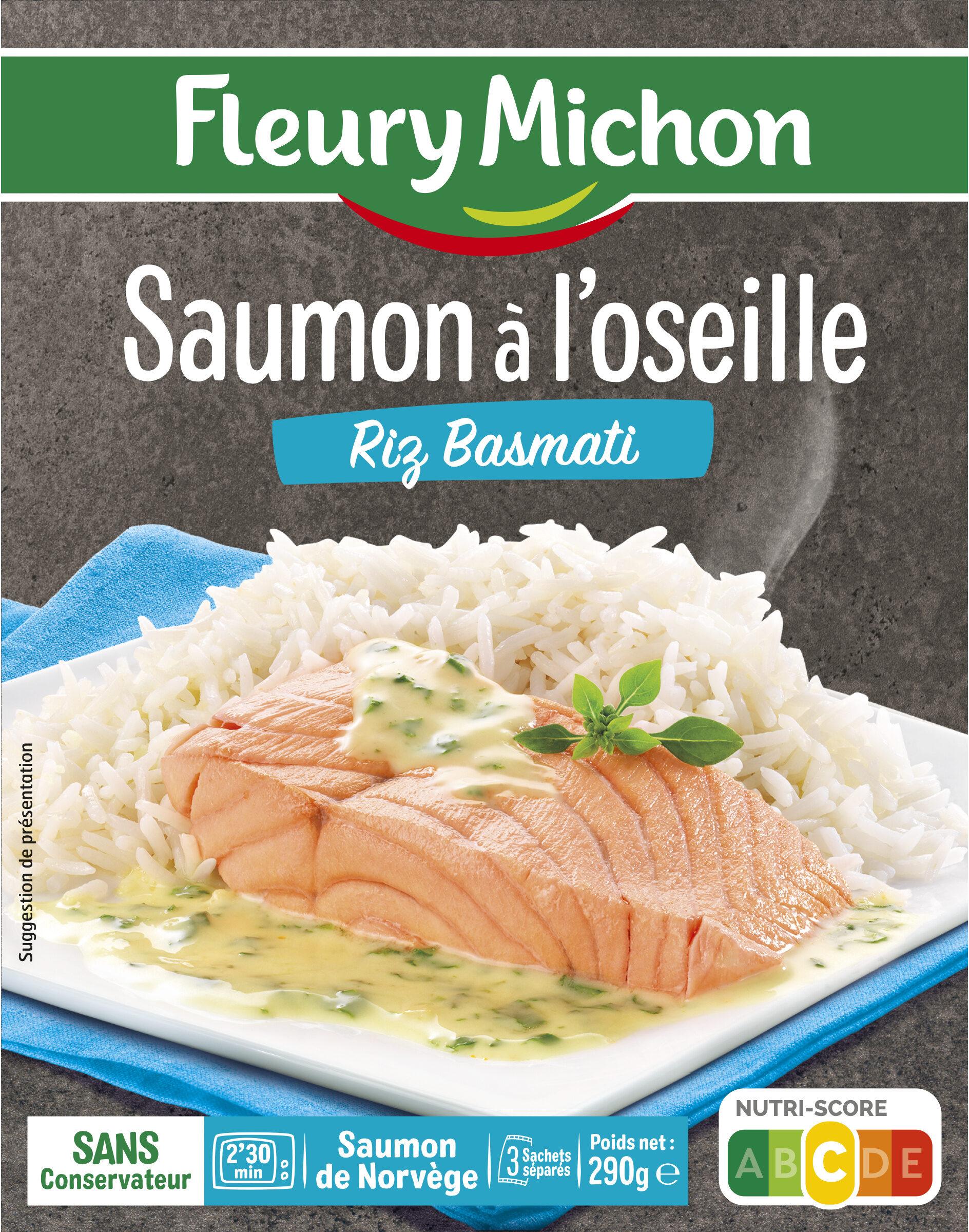 Saumon à l'oseille Riz Basmati - Produit