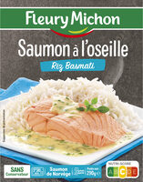 Saumon à l'oseille Riz Basmati - Product