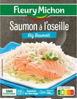 Saumon à l'oseille Riz Basmati - Product - fr