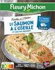 Le saumon à l'oseille et son riz basmati - Produit