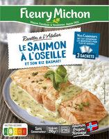 Le saumon à l'oseille et son riz basmati - Product - fr