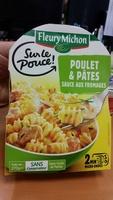 Sur le Pouce ! : Poulet & Pâtes sauce aux fromages - Produit - fr
