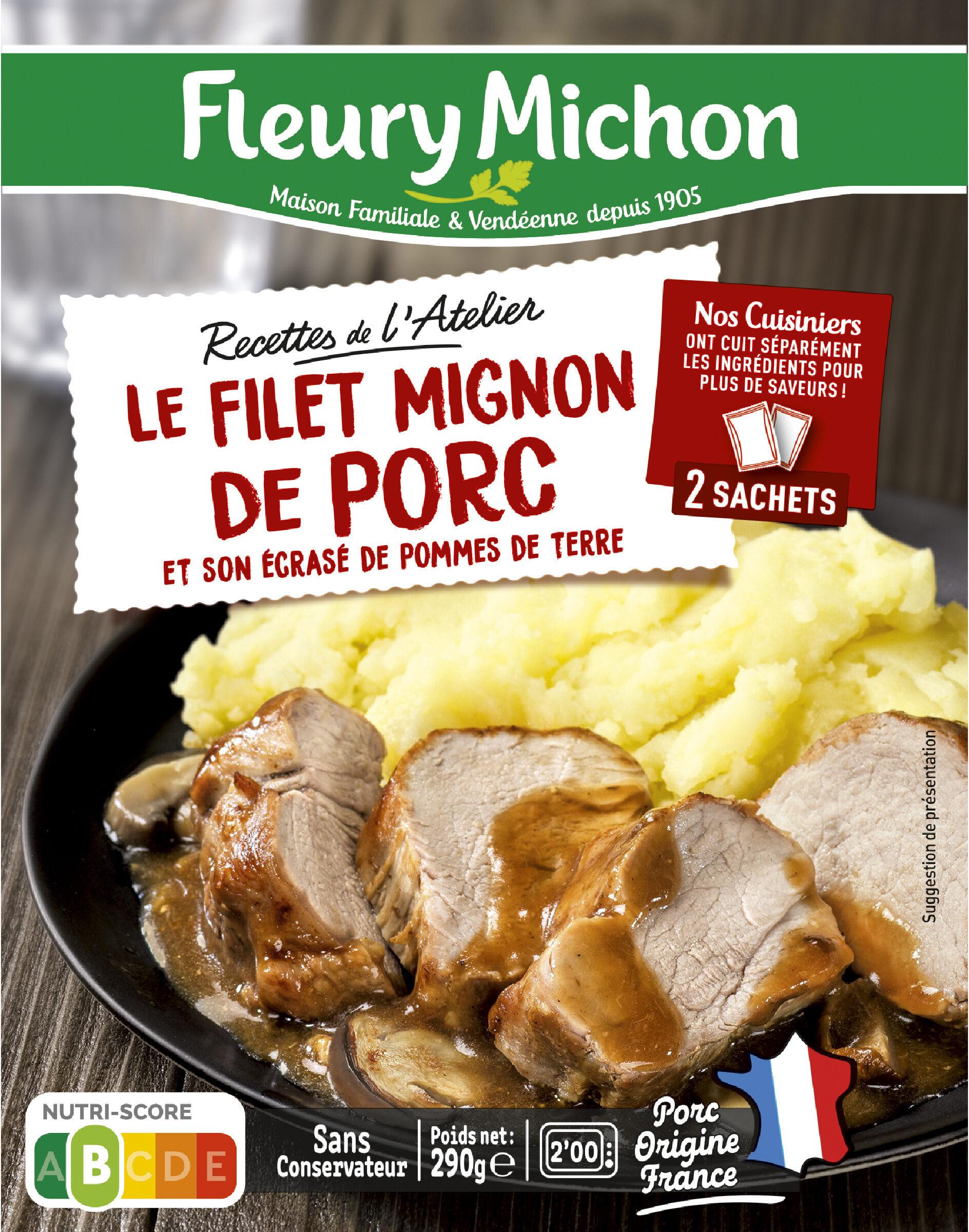 Le Filet Mignon de Porc et son écrasé de pommes de terre - Prodotto - fr