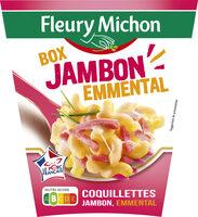 BOX JAMBON EMMENTAL (coquillettes jambon, emmental) - Produit