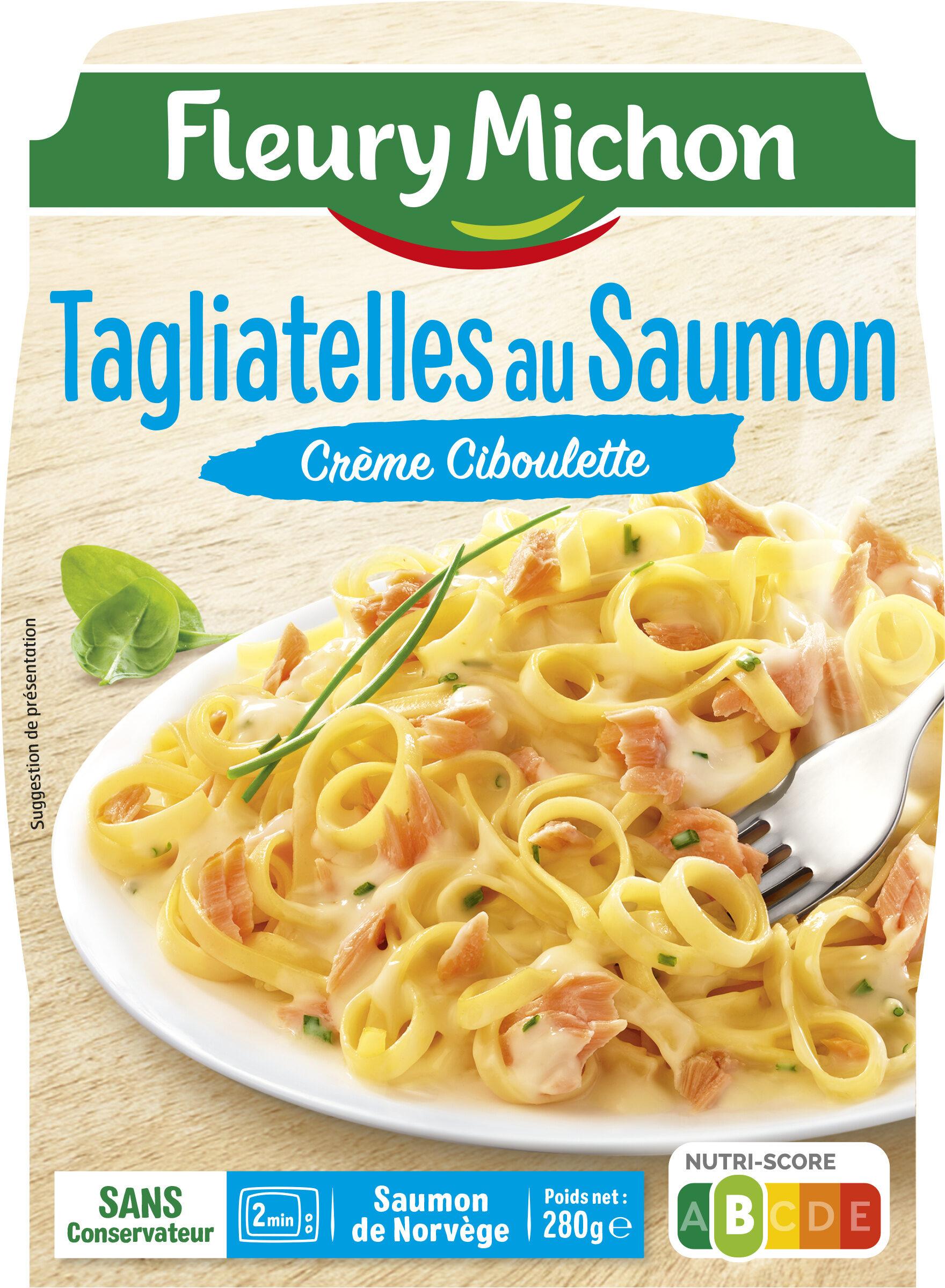 Tagliatelles au Saumon Crème Ciboulette - Product - fr