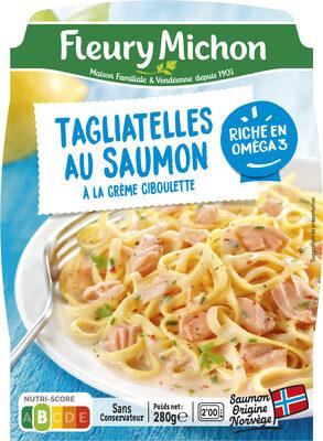 Tagliatelles au saumon à la crème ciboulette - Product - fr