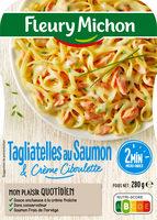 Tagliatelles au saumon & crème ciboulette - Produit