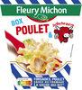 BOX POULET & LA VACHE QUI RIT® (torsades, poulet sauce au fromage la vache qui rit®) - Produit