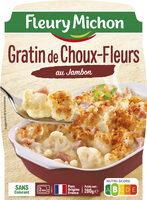 Gratin de choux-fleurs au jambon - Produit - fr