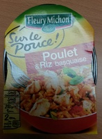 Poulet & Riz basquaise - Produit