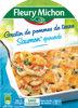 Gratin de pommes de terre saumon* épinards - Product