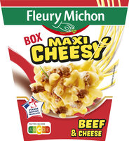 Box Maxi Cheesy (beef & cheese) - Product