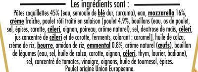 BOX MAXI CHEESY (chicken & cheese) - Ingrédients