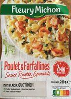 Poulet Farfallines Sauce Ricotta Epinards - Product