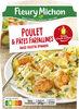 Poulet & pâtes farfallines sauce ricotta épinards - Produto