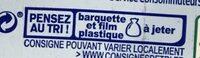 Batonnets Surimi - Istruzioni per il riciclaggio e/o informazioni sull'imballaggio - fr