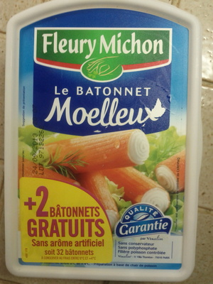Le Bâtonnet Moelleux (+ 2 Bâtonnets Gratuits soit 32 bâtonnets) - Product - fr