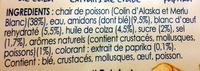 Le Bâtonnet Moelleux (+ 2 Bâtonnets Gratuits soit 32 bâtonnets) - Ingrediënten - fr