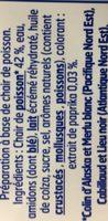 Le Bâtonnet Moelleux (30 Bâtonnets) - Ingrédients