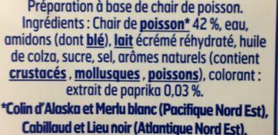 Le Bâtonnet Moelleux (30 Bâtonnets) - Ingrediënten - fr