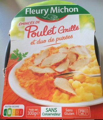 Émincés de poulet grillé et duo de purées - Produit - fr