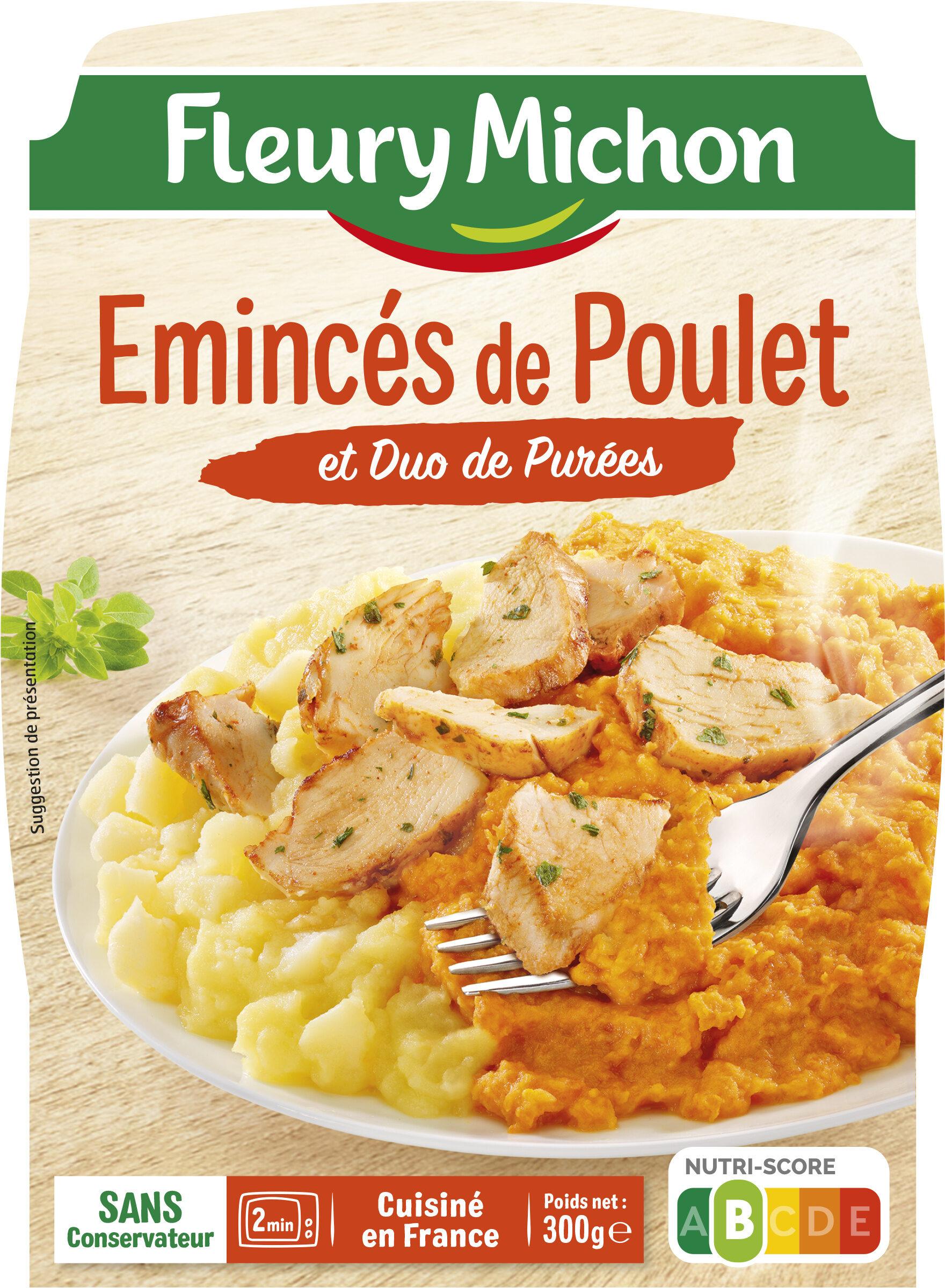 Emincés de Poulet et Duo de Purées - Produit - fr