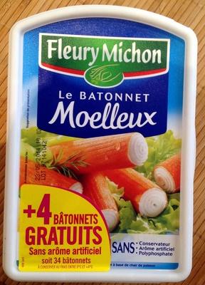 Le Bâtonnet Moelleux (+ 4 Bâtonnets Gratuits soit 34 bâtonnets) - Product - fr