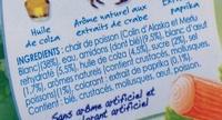 Le Bâtonnet Moelleux (+ 4 Bâtonnets Gratuits soit 34 bâtonnets) - Ingrediënten - fr