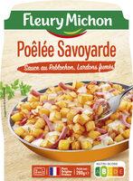 Poêlée Savoyarde - Sauce au Reblochon, lardons fumés - Produit - fr