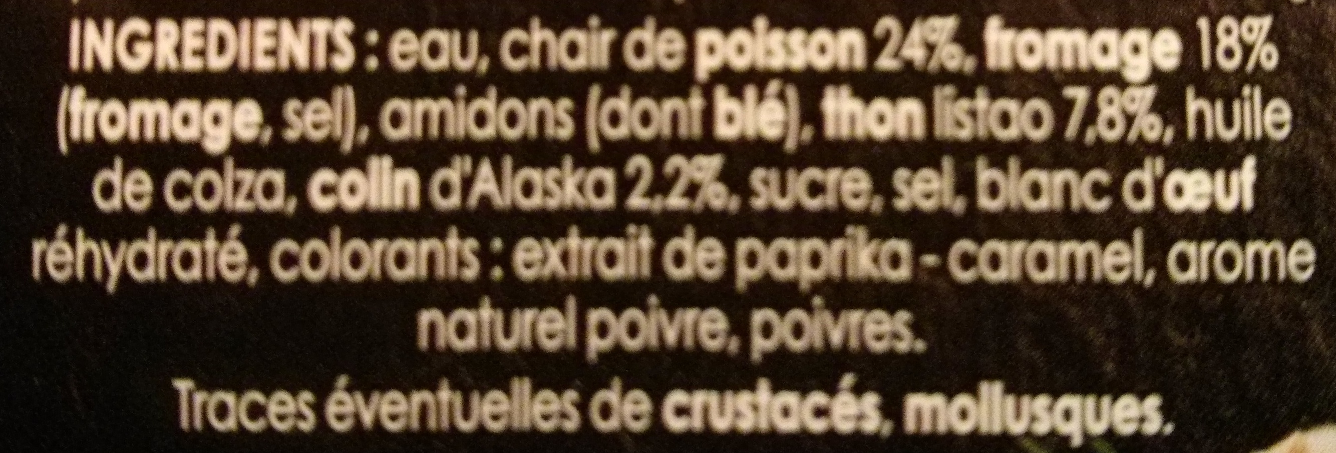 le Gourmand Thon (14 Bâtonnets) - Ingrediënten