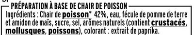 Le Moelleux - Léger 0% - Ingredienti - fr