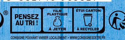 Le Moelleux - Istruzioni per il riciclaggio e/o informazioni sull'imballaggio
