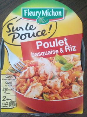 Poulet basquaise & riz - Produit - fr