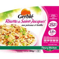Risotto de Saint Jacques* aux poireaux et lentilles - Produit