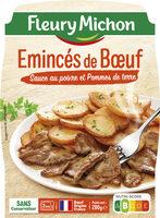 Emincés de Boeuf Sauce au poivre et Pommes de terre - Product