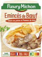 Emincés de Boeuf Sauce au poivre et Pommes de terre - Produit