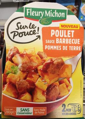 Sur le Pouce! Poulet sauce Barbecue Pommes de terre - Product