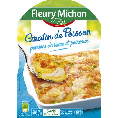 Gratin de Poisson pommes de terre et poireaux - Produit - fr