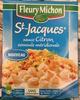 St-Jacques sauce Citron, semoule méridionale - Product