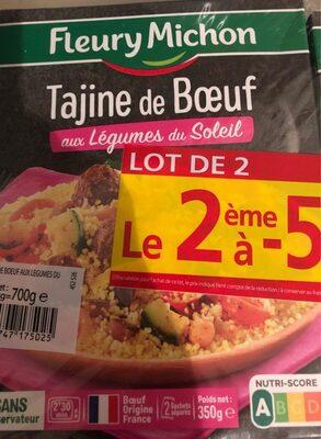 Tajine de boeuf - Produit - fr