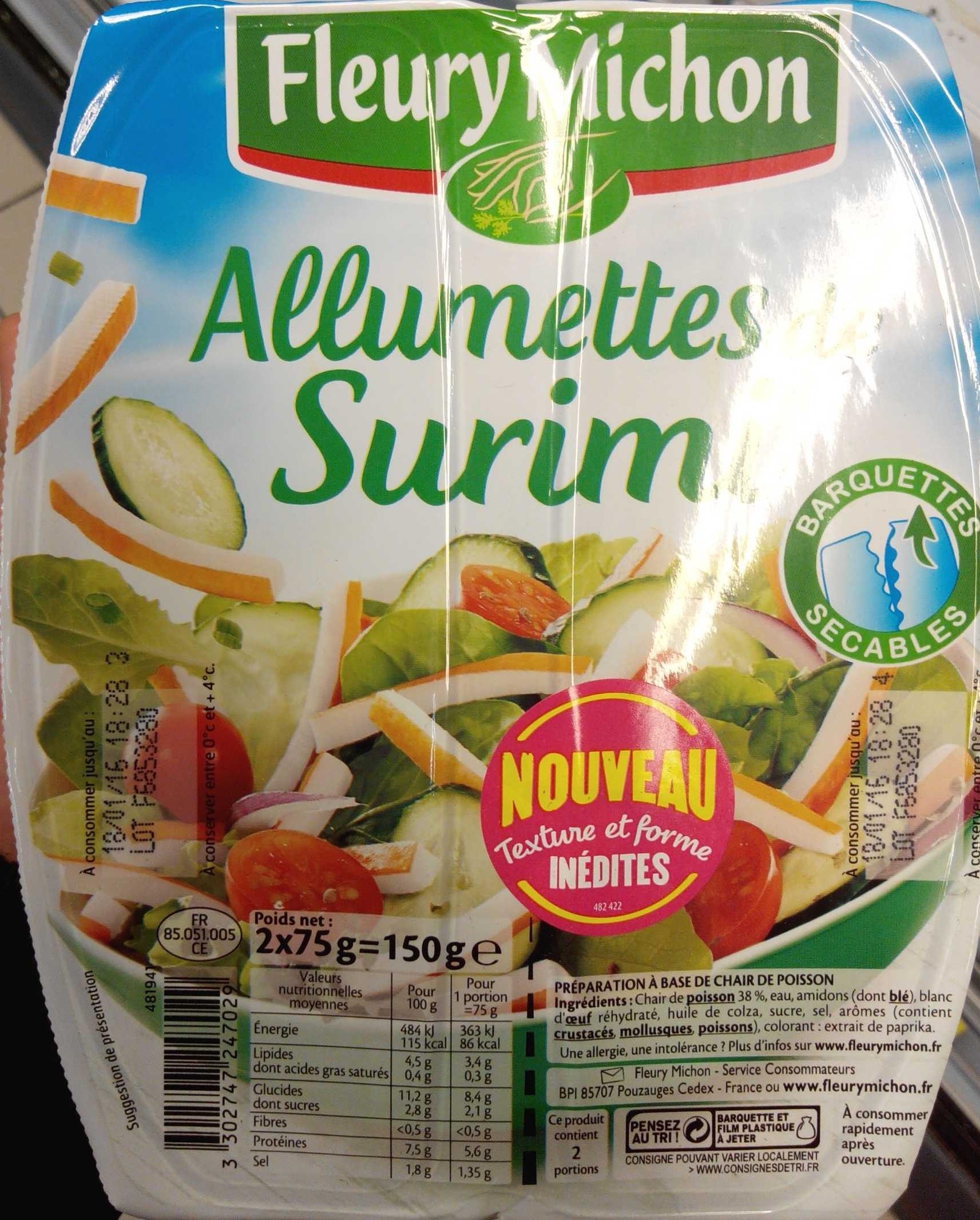 Allumettes Surimi - Product