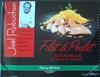 """Filet de poulet aux morilles et ses pâtes """"grattata"""" - Produit"""
