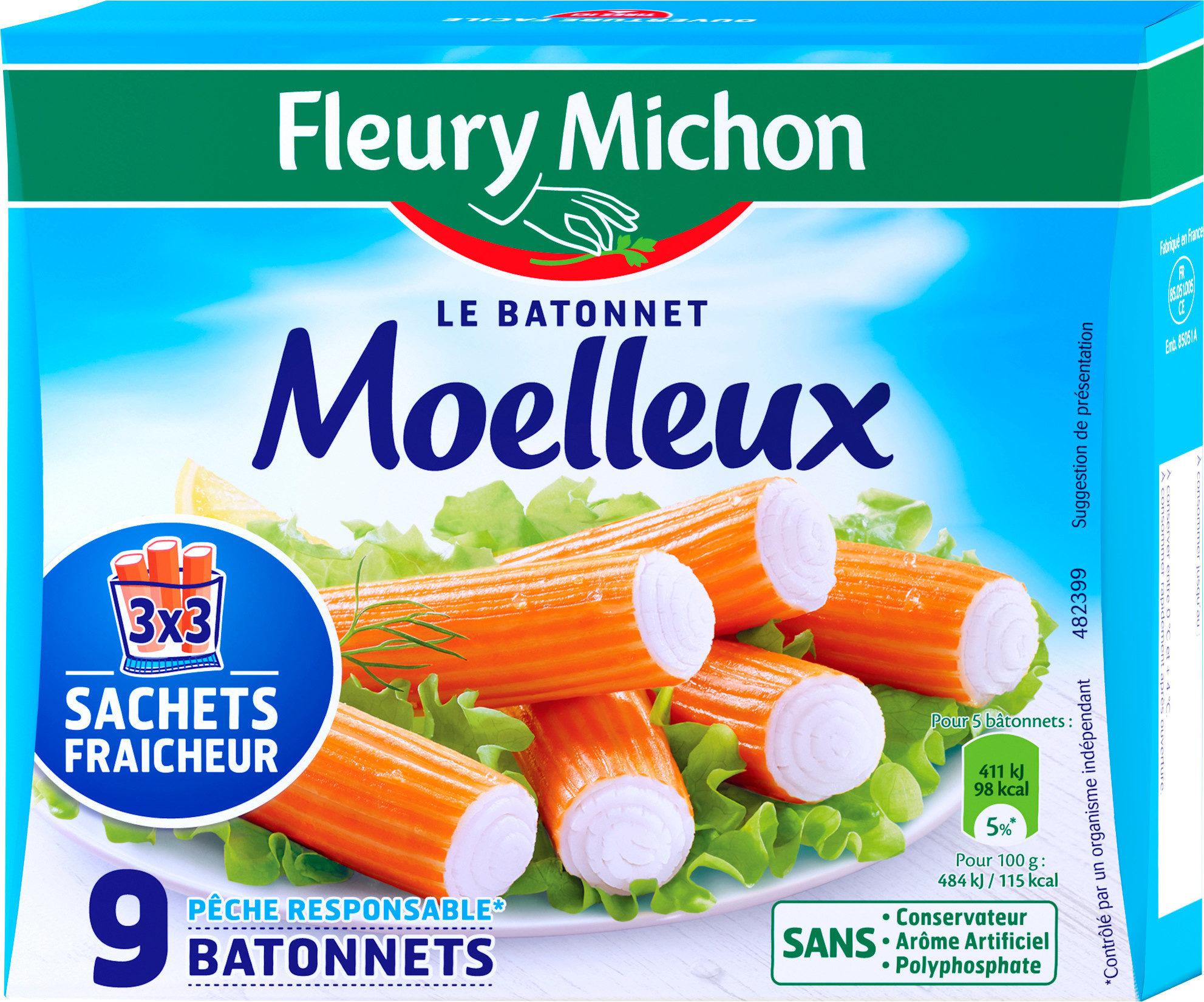 Le bâtonnet Moelleux - 9 bâtonnets - Produit - fr